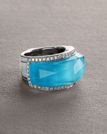Stephen Webster Classic Crystal Haze Ring -  Rings -  Neiman Marcus :  fashion accessory ring design fashion accessories