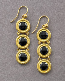 Gurhan Dahlia Three-Drop Earrings -  Earrings -  Neiman Marcus from neimanmarcus.com