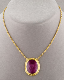 Gurhan Aurora Pendant Necklace -  Necklaces -  Neiman Marcus from neimanmarcus.com