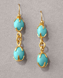 Gurhan Bella Turquoise Drop Earrings -  Earrings -  Neiman Marcus :  fashion accessory design fashion accessories designer