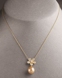Assael Flower Necklace -  Necklaces -  Neiman Marcus :  fashion accessory fashion accessories jewelry necklaces