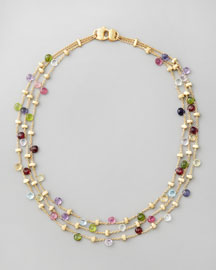 Paradise Multi-strand Necklace- Neiman Marcus