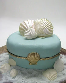 Seashell Cheesecake -  Cakes & Pies -  Neiman Marcus :  gourmet food pies sweets