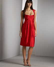 Nicole Miller Open Back Dress -  Dresses -  Neiman Marcus :  dress rasberry dress nicole miller open back dress dress clothing