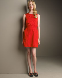 Marc By Marc Jacobs Crisscross-Back Dress -  Shift -  Neiman Marcus :  open back dress sale red dress dress