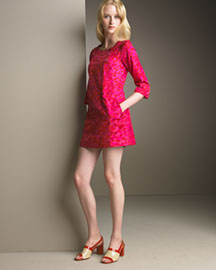 MARC by Marc Jacobs Heart-Print Dress -  Looks -  Neiman Marcus :  pink mini neiman marcus print