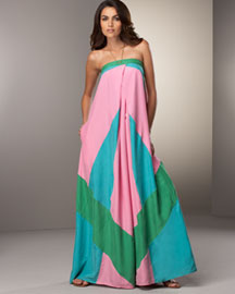 Diane von Furstenberg Maui Silk Patio Dress -  Dresses -  Neiman Marcus from neimanmarcus.com
