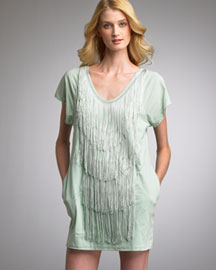 3.1 Phillip Lim Fringe Dress -  3.1 Phillip Lim -  Neiman Marcus :  fringe phillip lim flutter sleeve dress