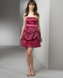 Phoebe Couture by Kay Unger Tier Petal Dress -  Cocktail Party -  Neiman Marcus