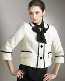 Milly Coco Cropped Jacket