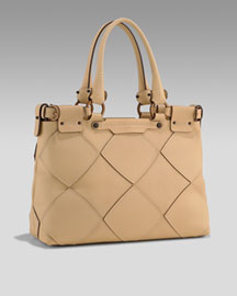 Salvatore Ferragamo Sella Quilted Tote from neimanmarcus.com