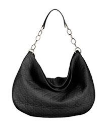 Dior Extra Large Soft Lady Dior Hobo- Premier Designer- Neiman Marcus :  lanbskin shoulder bag bag cannage
