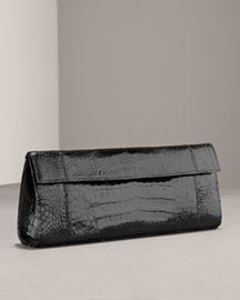 Nancy Gonzalez Crocodile Clutch, Large -  Nancy Gonzalez -  Neiman Marcus :  clutch nancy gonzalez croc bag