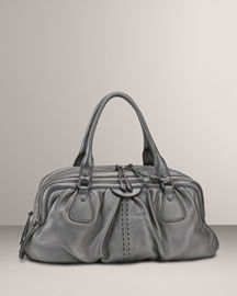 Cole Haan Village Triple-Zip Satchel -  Designer -  Neiman Marcus :  cole haan designer bag accessories