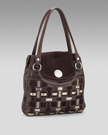 Tod's Woven Day Bag -  Premier Designer -  Neiman Marcus :  handbag italy bag shoulder strap