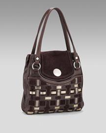 Tod's Woven Day Bag- Premier Designer- Neiman Marcus