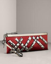 Burberry Ashcombe Clutch- Premier Designer- Neiman Marcus