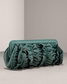 Isabella Fiore Teresa French Twist Clutch- Designer- Neiman Marcus
