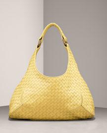 Bottega Veneta            Woven Leather Hobo-  Bottega Veneta-Neiman Marcus
