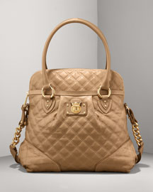 Marc Jacobs Quilted Classic Large Margot -  Premier Designer -  Neiman Marcus :  frame tote glamour beautiful stylish