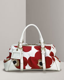 D&G Dolce & Gabbana Poppy Satchel -  Handbags -  Neiman Marcus :  arrivals colors for spring bag retro