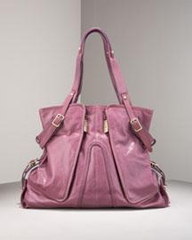Kooba Lola Shoulder Tote, Large- Designer- Neiman Marcus :  design satchel chloe summer