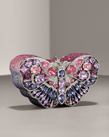 Leiber Butterfly Celestrina Clutch  from neimanmarcus.com