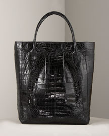 Nancy Gonzalez Small Croc Tote -  Exotic -  Neiman Marcus :  tote exotic nancy gonzalez bag