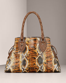 Fendi Python Bag de Jour -  Accessories -  Neiman Marcus :  luxe silver clothing neiman