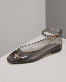 Fendi Halter Jelly -  Shoes -  Neiman Marcus :  jelly shoe fashions slingback fendi