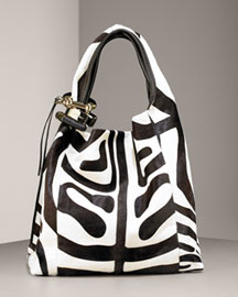 Jimmy Choo Zebra Cuff Hobo -  Handbags -  Neiman Marcus :  arrivals burberry juicy couture bag