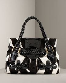 Valentino Animal-Print Bag -  Handbags -  Neiman Marcus