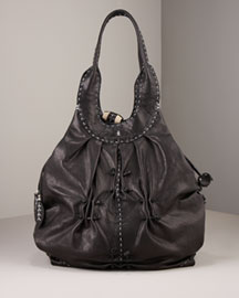 Henry Beguelin Ruched Shoulder Bag -  Handbags -  Neiman Marcus