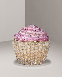 Leiber            Limited-Edition Strawberry Cupcake Clutch -   		Handbags - 	Neiman Marcus from neimanmarcus.com