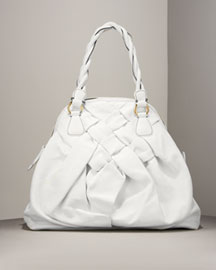 Valentino Couture Woven Bag -  Accessories -  Neiman Marcus :  apparel summer designer clothing womens