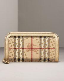 Burberry Cutout Wallet- Premier Designer- Neiman Marcus