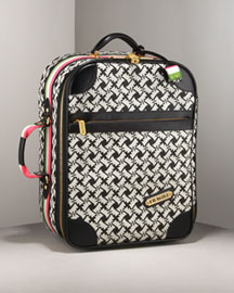 Juicy Couture            Retro Couture Canvas Travel Case -   		Handbags - 	Neiman Marcus from neimanmarcus.com