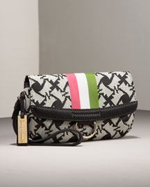 Juicy Couture            Travel Wristlet -   		Handbags - 	Neiman Marcus :  scottie print angel trim imported