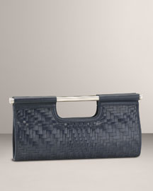 Cole Haan Genevieve Clutch -  Neiman Marcus :  blue handbag clutch womens