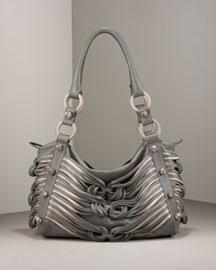 Katherine Kwei Teresa Knot Lambskin Hobo- Shop Handbags- Neiman Marcus