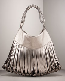 Katherine Kwei Donna Knotted Lambskin Tote -  Designer -  Neiman Marcus :  katherine womens apparel knotted different
