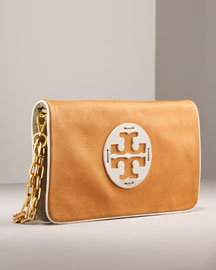 Tory Burch Reva Clutch -  Handbags -  Neiman Marcus :  fashionstore cross stars new