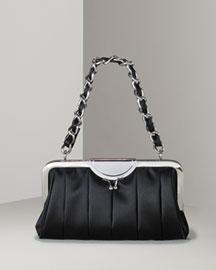 D&G Dolce & Gabbana Gemma Satin Clutch- Shoe & Handbag Fall Trends- Neiman Marcus