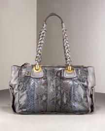 Chloe Heloise Python East-West Satchel- Premier Designer- Neiman Marcus