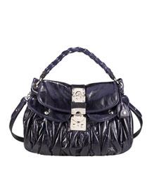 Miu Miu Matelasse Luxe Hobo, Large- Handbag Collection- Neiman Marcus