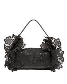 Prada            Nappa Tote-  Lace-Neiman Marcus :  tote prada handbag arrivals