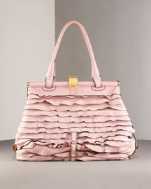 Valentino Allure Ruffled Bag- Valentino- Neiman Marcus