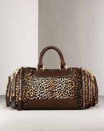 D&G Dolce & Gabbana Emy Tote- Premier Designer- Neiman Marcus :  ocelot dolce gabbana bag d g