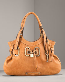 Barbara Bui - Leather Bucket Tote :  handbag designer neimanmarcus italy