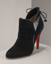 Christian Louboutin Suede Bootie